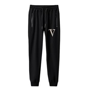 Printemps Eté chaud Hommes Drilling Pantalons simple Youth Skinny Taille Plus cordonnet taille élastique sport pantalons de jogging Bas