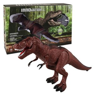 Kızılötesi uzaktan kumanda dinozor simülasyon Tyrannosaurus Rex hüner ve bilgelik erken eğitim bilimleri ve eğitim oyuncaklar elektronik pet oğlan
