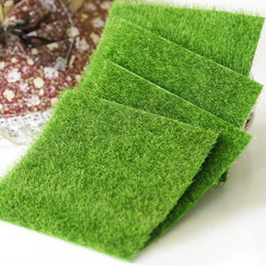 1 2 5Pcs Garden Artificial Lawn Moss Grass Wall Green Plants Miniature Household Dollhouse Micro Landscape Decor Accessories