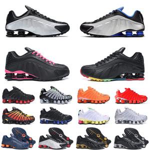 nike air shox tl og r4 2020 En Kaliteli Açık OG R4 Shox TL Ayakkabı Siyah Metalik Racer Mavi Lacivert Pembe Neymar için Mens Kadınlar Eğitmenler BOYUTU 12 Running