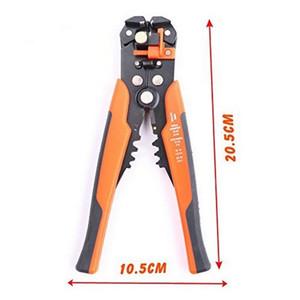 Pelacables cable alicates de corte automático descrustación Alicates Crimper engaste alicates de desmontaje del terminal de mano Herramientas Y200321