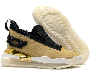 2020 New arrival Proto jumpman mens shoes Black Gum Johnny Kilroy Gym Red Pure Platinum Neon Gradient sneakers size 40-46 a1