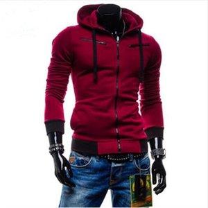 Hot Sale Cardigan Men Hoodies Jacket Brand Clothing Fashion Zip Hoodie Man Casual Slim Hoody Sweatshirt Sportswear T200914