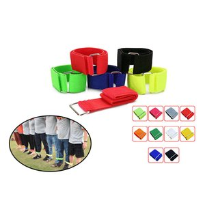 3-Legged Race Bands Elastic Tie Rope Strap Band Perfect for Race Game Carnival Field Day Backyards ASD88