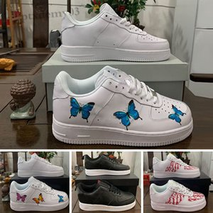 NIKE Air Force one 1 AF1 2020 personnalisés Chunky Dunky 1 Low Ace Sneakers Airs Un utilitaire Hommes Chaussures de course Forcs Formateurs Plateforme Casual Marque 36-45 SH06