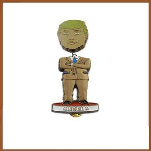 Trump Badge Trump Shaking Head Brooch Election Trump Bag Accessories T-shirt Collar Badge Party Supplies Party Favor CCA12546