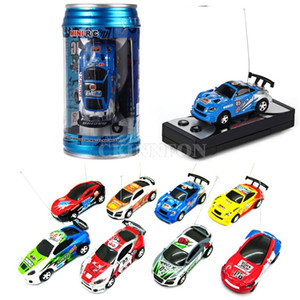 48Pcs Lot For Coke Can Mini RC Radio Remote Control Micro Racing Car (Color: Multicolor)