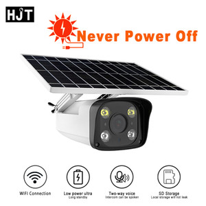 WIFI Solar IP Camera Outdoor HD 1080P Long Standby IR Night Vision Two-way Audio TF Card Human Motion Detection Wireless Camera