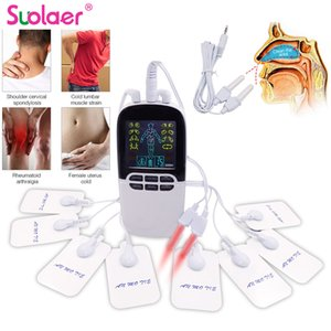 Multi-Functional Dual-Output Muscle Stimulator Tens Acupuncture Physiotherapy Massage Machine EMS Abs Massager Health Fat Burner