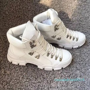 Flashtrek Ankle Boots Mens Sneakers Winter Boots White Black Chunky Shoe Martin Boots Fashion Outdoor Shoes With Box c14