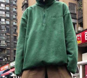 Fleece Jacket Top Long Sleeve Loose Warm Sweatshirts Couples Women And Mens High Quality Sweater M~XL33