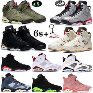 Mens Basketball Shoes Jumpman sogno lo faccio palestra Red Bred Carbone Cool Grey 9 UNC Countdown pacchetto Statua Designer Sneakers Trainers