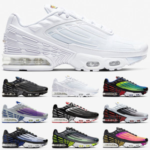 air vapormax tn plus 3 hombres mujeres Zapatos para correr Tuned Ultra trainers Triple White Black Sunset Neon Hyper Blue Violet para hombre Zapatillas deportivas
