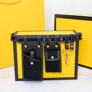 Bayanlar Crossbody Çanta Altın Omuz Kayışı Çanta Kadınlar Bel Çantası Çıkarılabilir Cep Telefonu Çanta Çok Fonksiyonlu Cep