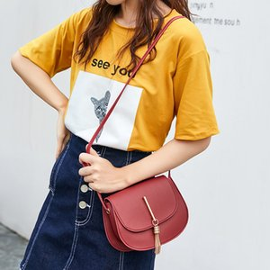 Fashion Tassel Small Women Bags PU leather Messenger Bag Clutch Bags Designer Mini Shoulder Bag Women Handbag bolso mujer purse