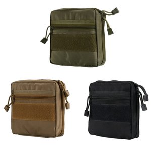 New outdoor tactical multifunctional tool pouch accessory storage bag washing bag backpack hanging pocket pure nylon leisure sports bag