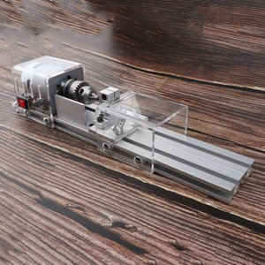 AC 100-240 V Mini Beads токарный станок электроинструментов Wood Lathe Комплект для шлифовки, резки, полирования