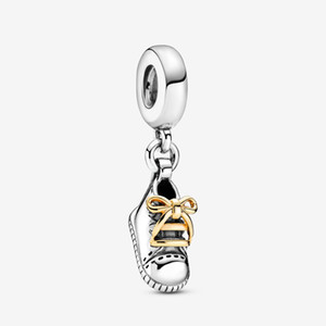 New Arrival Charms 925 Sterling Silver Baby Shoe Dangle Charm Fit Original European Charm Bracelet Fashion Jewelry Accessories Free Shipping