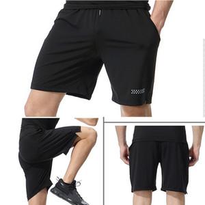 Sport Shorts Men Running Shorts Jogging Walking Training Gym Short Pants Quick Drying Zipper Pockets Drawstring