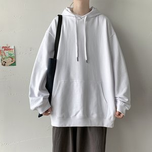 Men's Oversized Hoodie Solid 5XL Harajuku Hoodie Oversize For Men Black Man Hoody Xxxtentacion Men Sweatshirt Hooded T200917