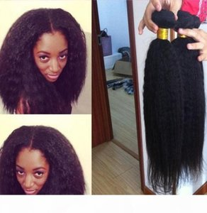 afro kinky straight new arrive afro kinky human hair weave weft high quality 100% brazilian virgin human hair extension