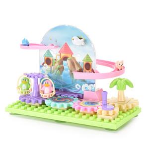 بناء كتل بذراع يدوي ملعب لغز تجميع كتلة لعب اطفال ورضيع هدية المزيد من الملحقات على حد سواء فتى وفتاة