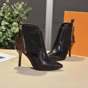 2020 Die neuen Frauen JANET STIEFELETTE 1A586V 1A57UN Damen Stiefeletten klassische Art und Weise hochwertige Größe 35-42 mit Box