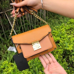 entrega libre global solo hombro bolso de la manera de las mujeres del bolso de la cadena hebilla de hardware moda de alta calidad bolso de las mujeres impresas