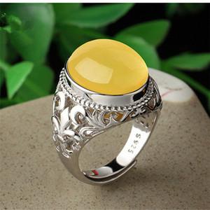 Твердое серебро 925 регулируемого ирис цветок Флер-де-Лис Флер-де-Лис полого Вырезанная заготовка Semi крепление 18 * 13мм Держатель базового кольца