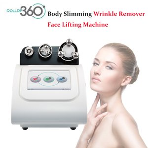 Newest 360 RF skin care 360 automatic rolling radio frequency rf lifting machine with LED light