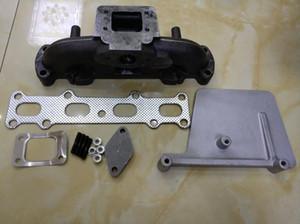Turbo 94-05 miata MX5 1.8L DOHC T25 T3 TURBO Döküm Egzoz konusu manifold, manifolda