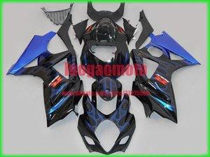 New injection fairings kit+7 Free gifts for SUZUKI K7 GSXR1000 GSXR 1000 07-08 SUZUKI GSXR1000 2007-2008 K7 bodywork #BLUE BLACK #8ZX65