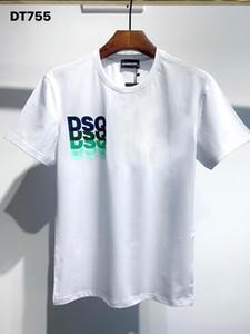 DSQ Phantom Tortue 2020ss New Mens Designer T-shirt Italie T-shirts Été Hommes DSQ T-shirt Homme Top Qualité 100% coton Top 3998
