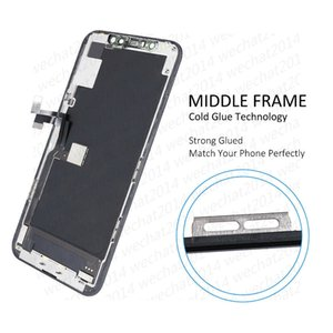 2PCS OLED LCD Display Touch Screen Digitizer Assembly Replacement Parts for iPhone 11 Pro free DHL