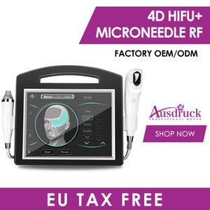 4D Hifu Microneedle fraktionierte RF Gesicht Körper Abnehmen Schönheit Maschine für Gesicht Falten entfernen Heben Anti-Aging-Narben Akne Entfernung System