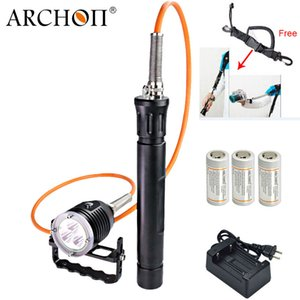 ARCONTE DH30-II updat Dh30 Diving scatola metallica Snorkeling Scuba Diving Luce subacquea LED professionale