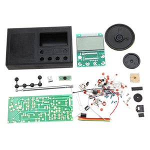 DIY FM Radio Kit Electronic Learning Assemble Suite Parts for Beginner Study School Teaching Broadcast Radio Set
