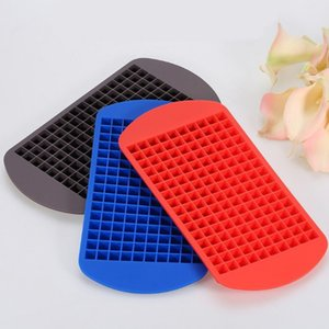 160 mini size grid ice hockey food grade material wine drinking ice party bar reuse safe reliable