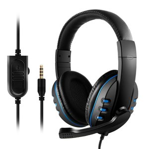 Wired Gaming Headset Over Ear Game Headphones Noise Canceling 3.5mm Earphone with Microphone Volume Control for Laptop PC