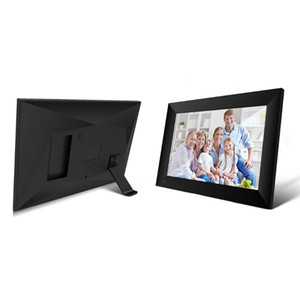 10.1 inç Dijital Fotoğraf Çerçevesi HD 1280 * 800 LED Arka 16GB IPS Ekran Tam Fonksiyon Elektronik Digitale Resim video