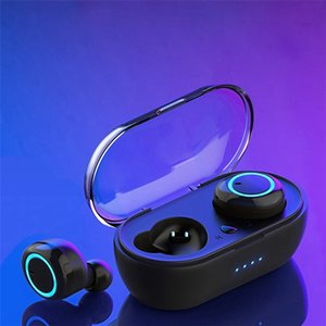 W12 TWS 5.0 Bluetooth Wireless Earphone Sport Waterproof Sports Headset Touch Control Music Earbuds Headphones For Iphone Samsung Cell Phone