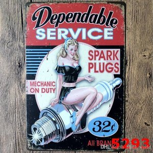 20x30cm Vintage Art Poster Sign Oil Tin Motor Garage Pictures Man Signs Signs Metal Texaco Home Cave Retro Bar Decor Wall Sinclair yxlPM