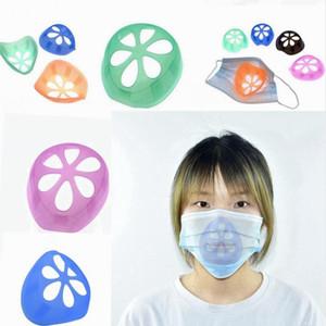 Máscara Máscaras de apoyo interior del marco de protección desechables Soporte mascarilla nasal cojín anti pintalabios maquillaje anti Opresión soportes LJJP492