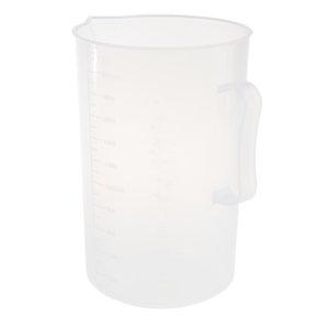 2000ml Plastic Measuring Cup W / Pega Formado taça Laboratory Equipment