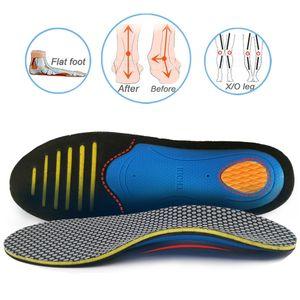 Solette ortopediche EVA Ortotica Piede piatta Piede piatta PAd per le scarpe Inserire il supporto per supporto per arco per fascite plantare uomo donna