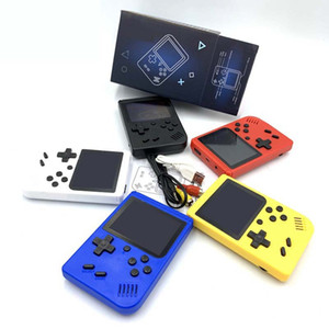 Mini Handheld Game Console Can Store 400 Games Retro Portable Video Game Consoles 8 Bit 3.0 Inch Colorful LCD Game Box PK SUP PXP3 For Kids