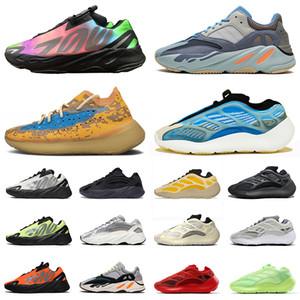 ayakkabı yeezy boost MNVN 700 v3 380 kanye west yezzy yeezys Azareth Srphym Azael Alien Blue Oat Runner Vanta Bone BOYUTU ABD 12 Koşu Ayakkabıları mens bayan Sneakers