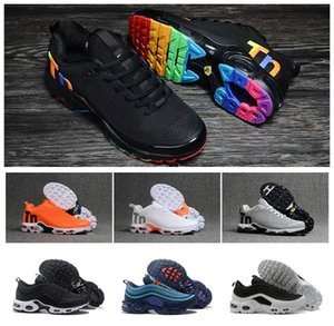 97 Tn Nouveau Chaussures Hommes Tn Designer Chaussures Chaussures Homme Tn Plus Femmes Sport Baskets Zapatillas Hombre Tns Cushion Run Chaussure Eur 36-46