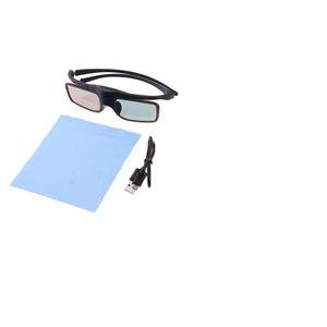 Universal recarregável Mini 3D Projector Fazer a ligação activa Shutter DLP
