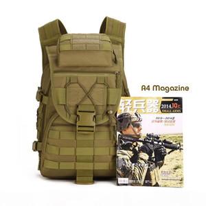 Designer-3P MilitaryTactics Molle Backpacks 40L Assault Nylon Travel Bag Rucksack Outdoor Travel Hiking Backpack Nylon Bags